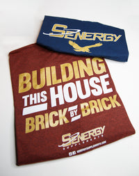 Senergy Tee Shirt - Building This House Brick By Brick