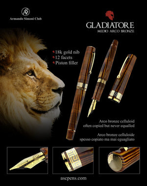 NEW! Gladiatore Medio Arco Bronze