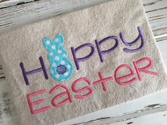 Happy Easter - Hug A Bug Applique Designs