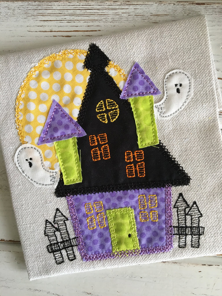 Haunted House - Hug A Bug Applique Designs