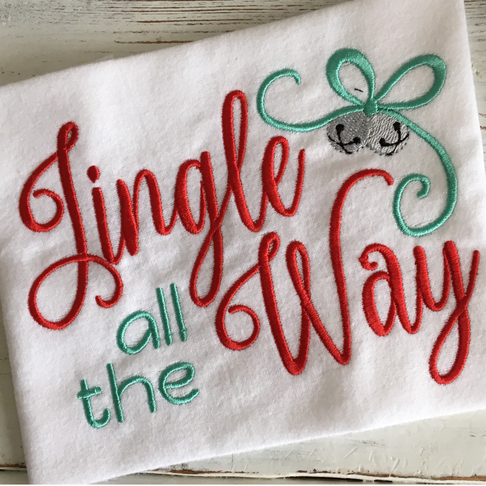 Jingle All The Way - Hug A Bug Applique Designs