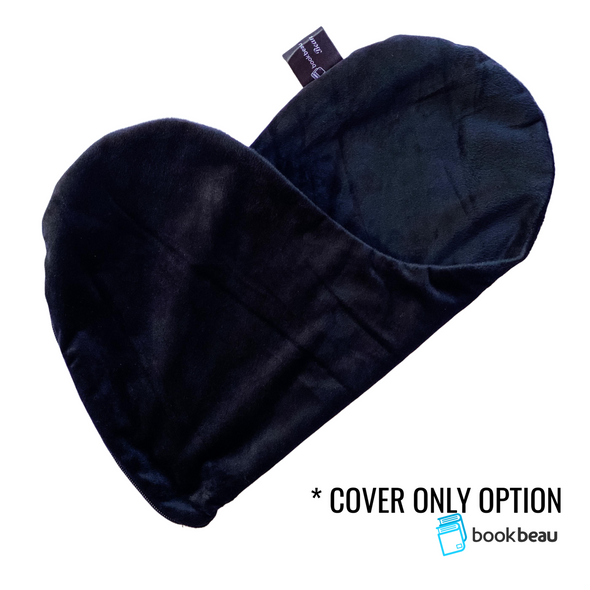 COVER ONLY Black (Flat Minky) | Reading Bean