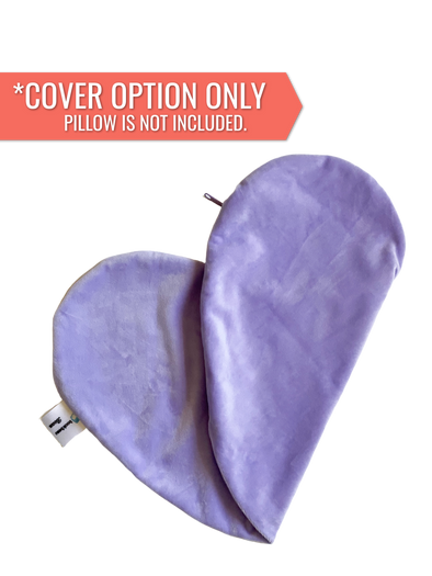 REPLACEMENT COVER ONLY Lavender (Flat Minky) | Reading Bean