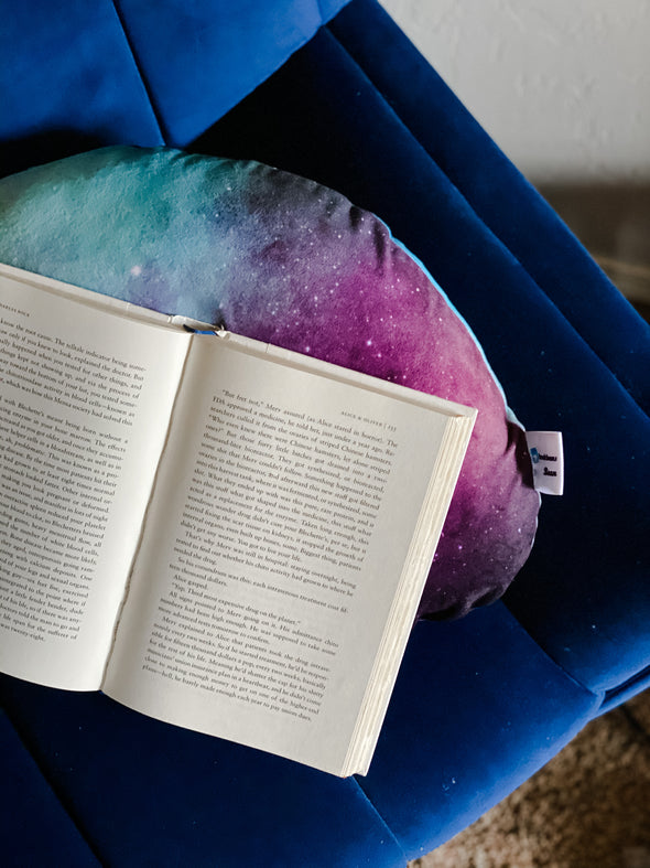 Galactic (Flat Minky) | Reading Bean