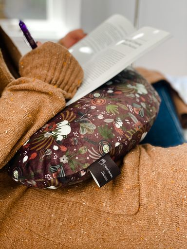 Autumn Floral (Flat Minky) | Reading Bean