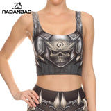 Barbarian Crop Top tank tops