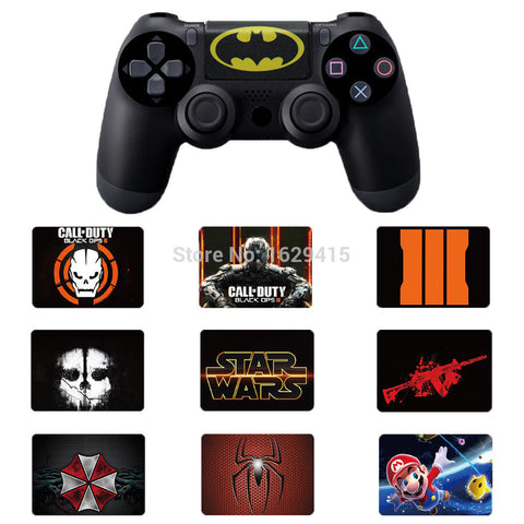 1 PCS  Vinyl Stickers Cover For PS4 controllers