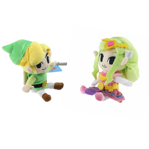 2pc The Legend of Zelda PlushToys Dolls