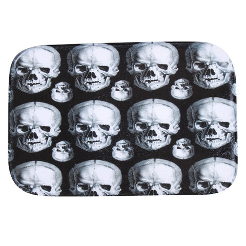 Skulls bathroom shower Mat