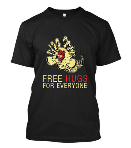 Funny Alien Facehugger T-Shirt