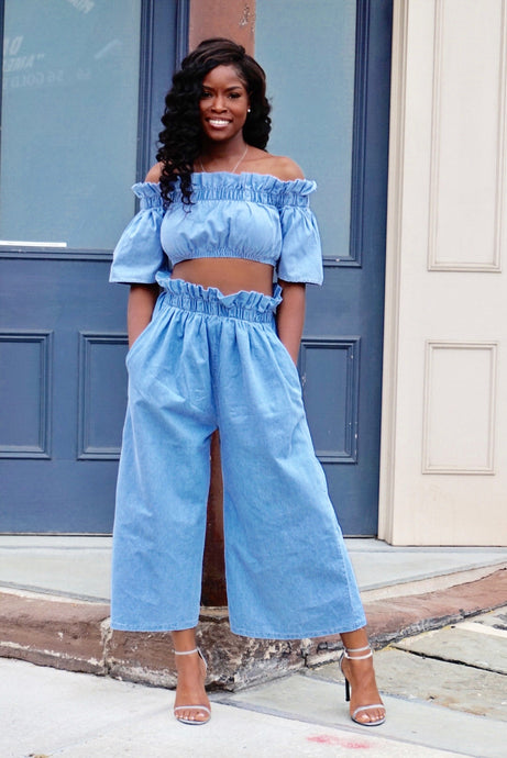 I Dream of Denim| 2 Piece Set