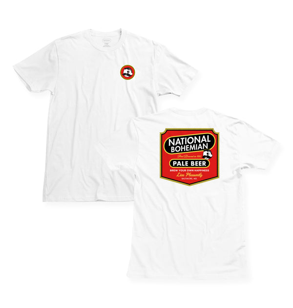 Brew Happy Tee- White