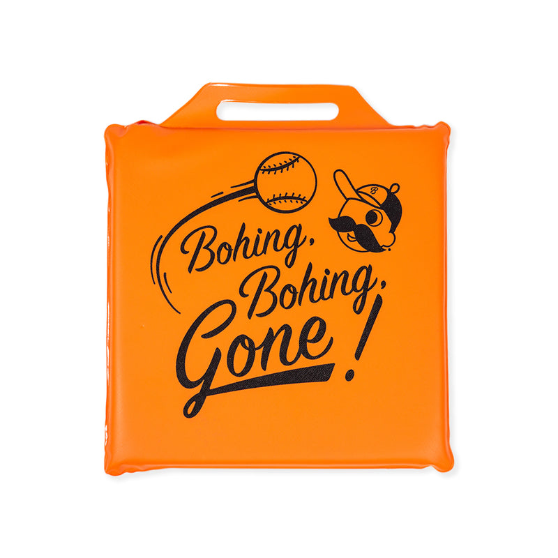 NATIONAL BOHEMIAN BASEBALL SEAT CUSHION
