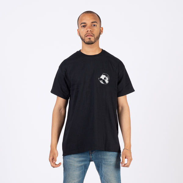 Live Pleasantly Tee - Black