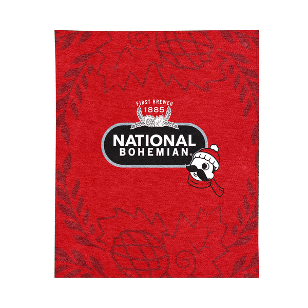 Natty Boh Fleece Blanket