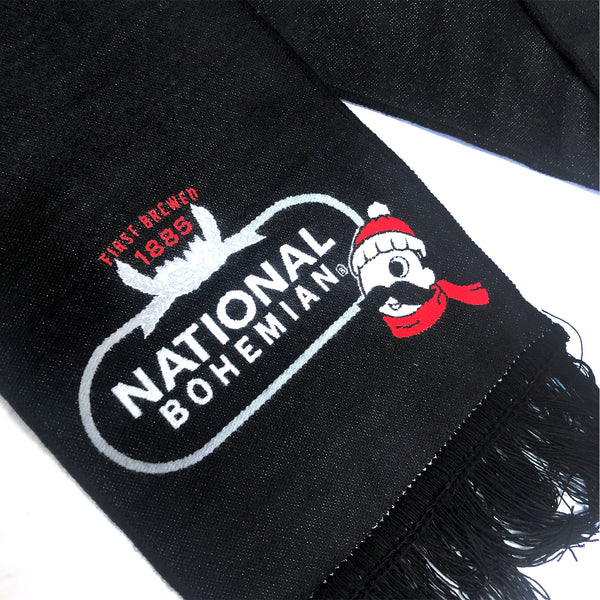 Natty Boh Holiday Scarf