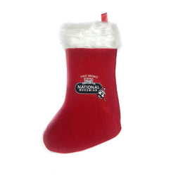 Natty Boh Holiday Stocking