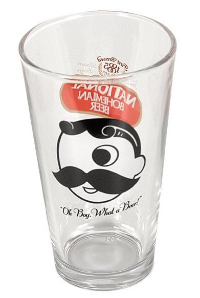NATB PINT GLASS