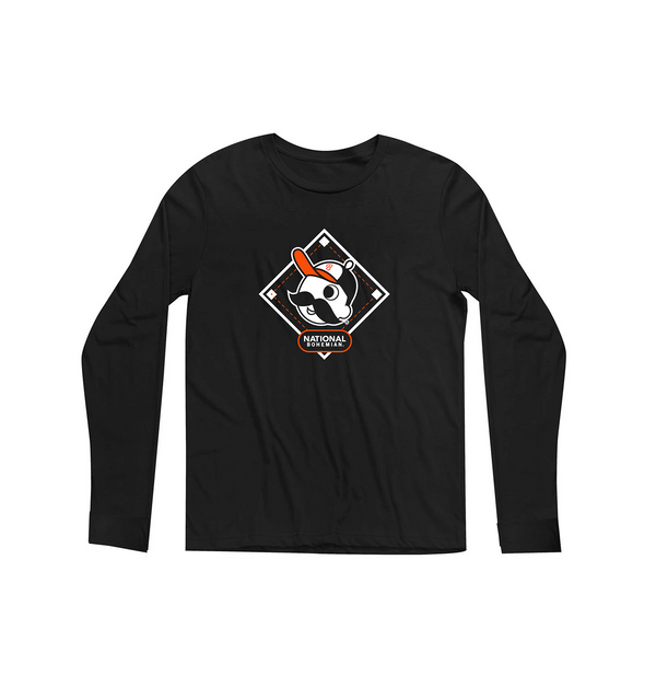 Diamond Long Sleeve - Black