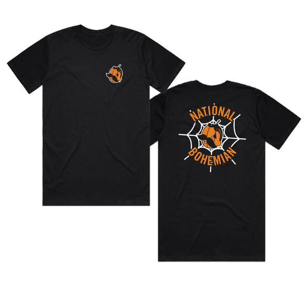 PUMPKIN BOH HALLOWEEN TEE - BLACK