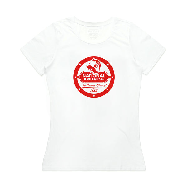 WOMEN'S SUPPORT TEE - WHITE
