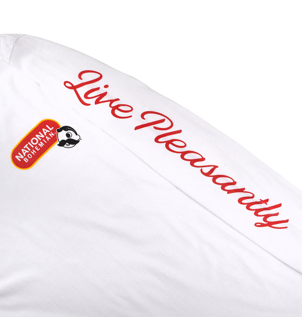Live Pleasantly Long Sleeve Tee