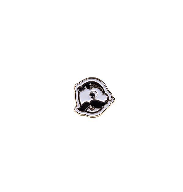 Mr. Boh Enamel Pin