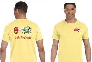 NATB TABS FOR CRABS T-SHIRT