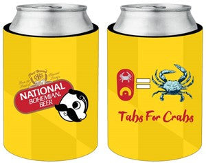 NATB TABS FOR CRABS KOOZIE