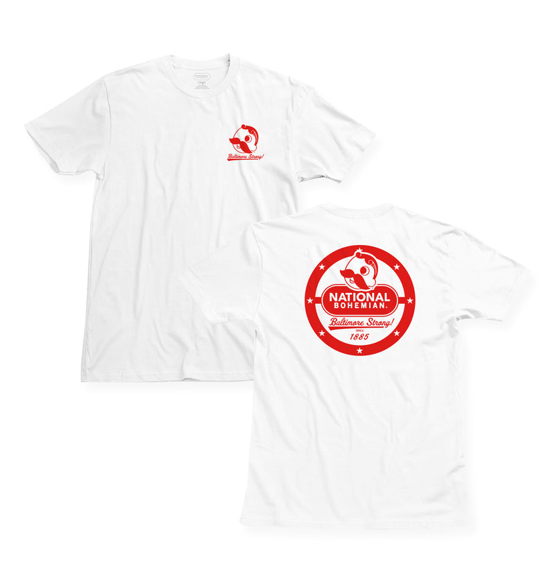 THE SUPPORT TEE - WHITE