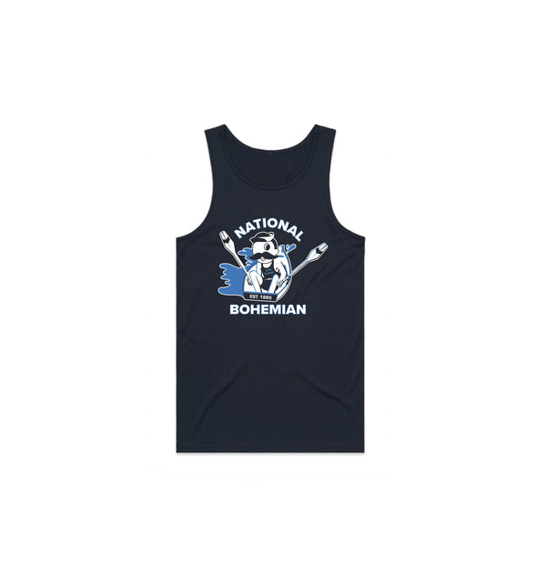 SAIL AWAY TANK - NAVY