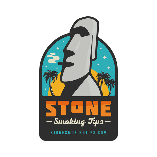 stone smoking tips crutch ceramic