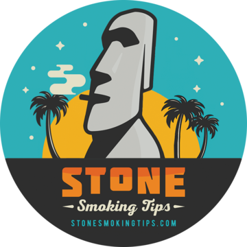 stone smoking tips bumper sticker round