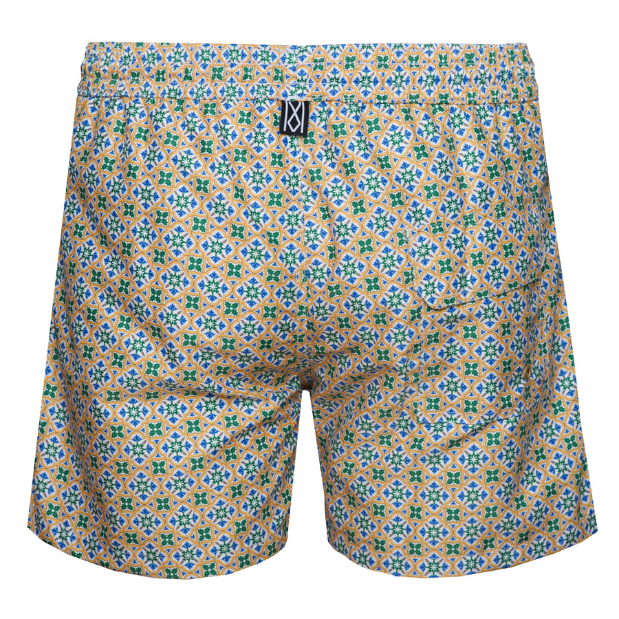 Yellow Tile Swim Shorts Super-dry - kloters