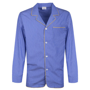Royal Blue Striped Pyjamas - kloters