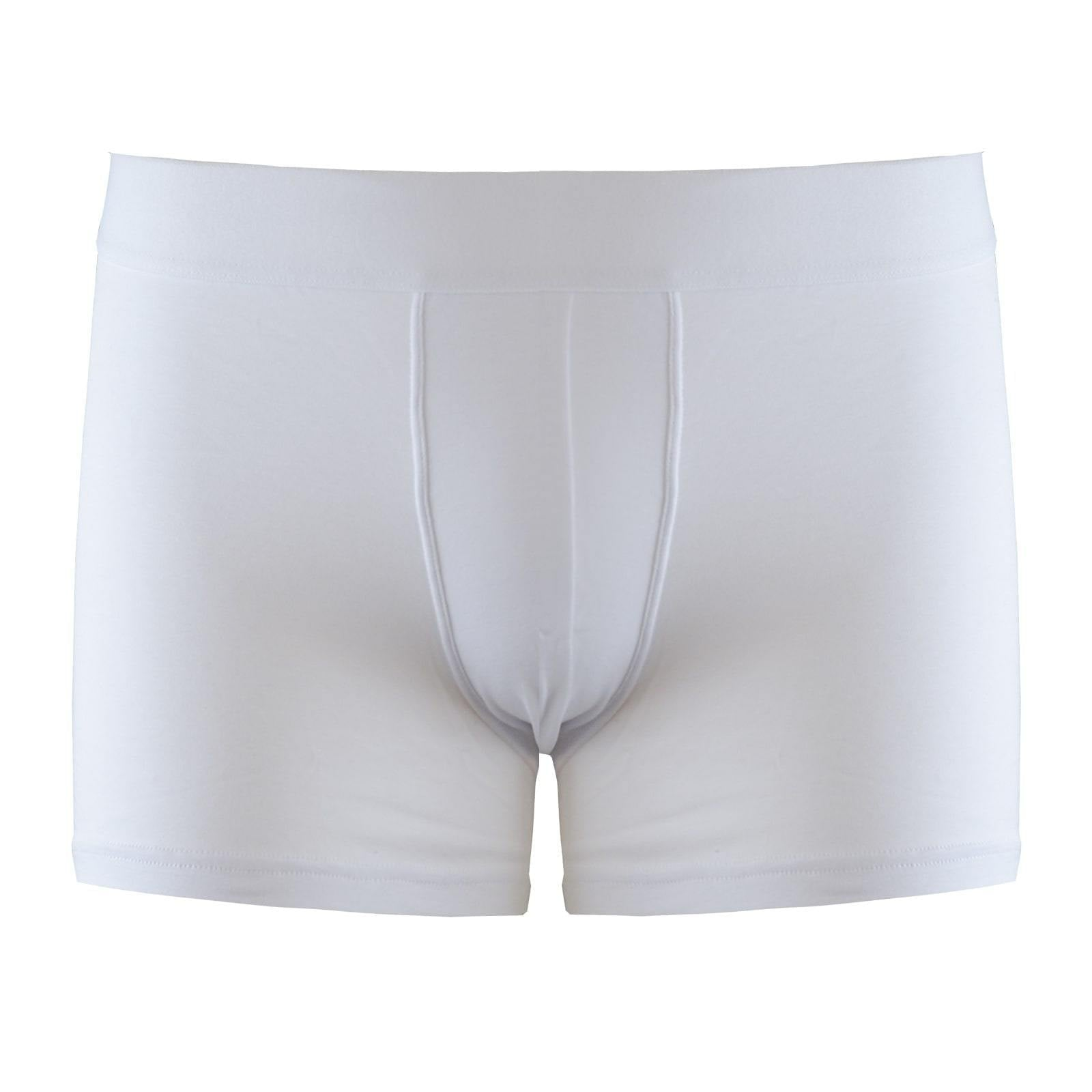 3bad4991b 3 Total White Boxer Briefs Pack - kloters