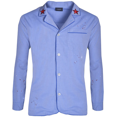 Light Blue Spray Pyjamas - kloters