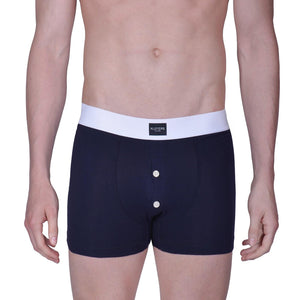 3 Blue Boxer Briefs with Buttons Pack - kloters