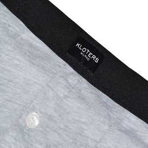 Heather Grey Boxer Briefs with Buttons Pack - kloters