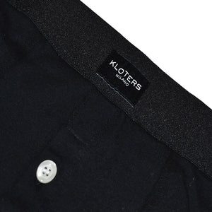 3 Black Boxer Briefs with Buttons Pack - kloters