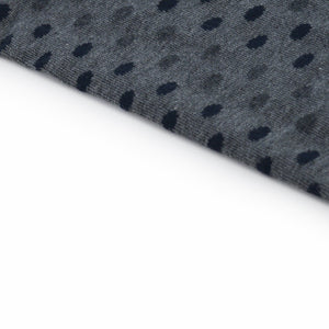 Grey Polka Dots Socks - kloters