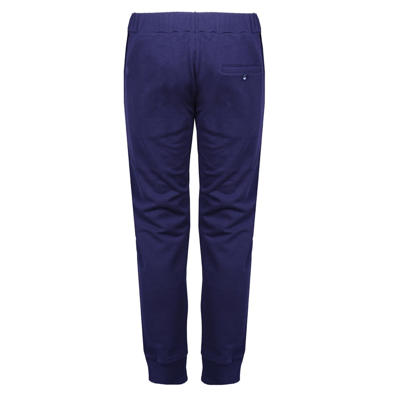 Blue Cotton Trousers - kloters