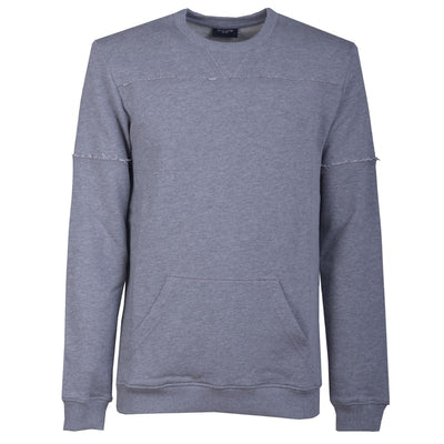 Grey External Seams Sweatshirt - kloters