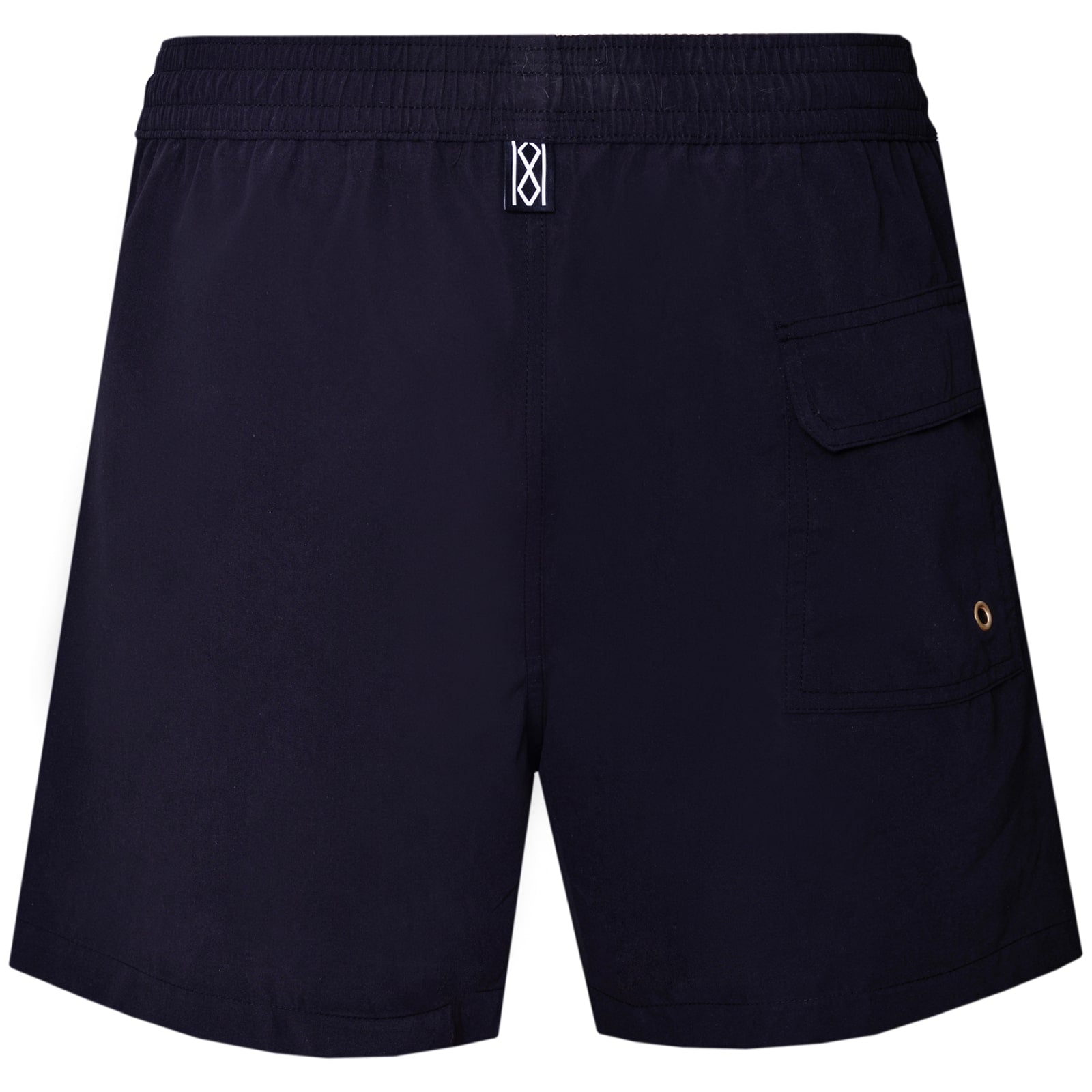 Black with Skull Swim Shorts - kloters