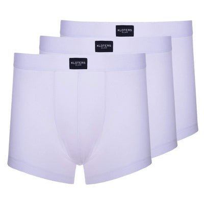 Boxer Briefs - 3 White Boxer Briefs Pack