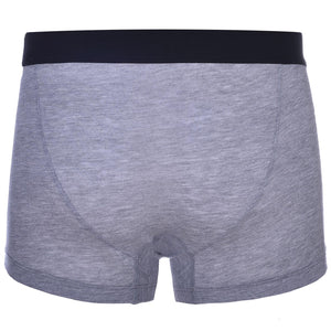 Boxer Briefs - Heather Grey Boxer Briefs With Buttons