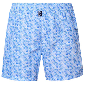 Brush Tile Swim Shorts - kloters