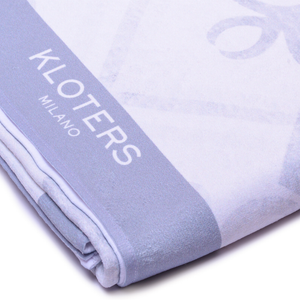 Grey Tile Beach Towel - kloters