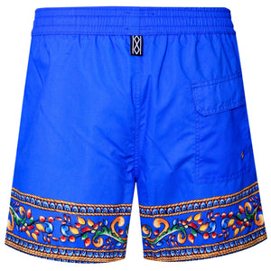 Greek Tile Swim Shorts - kloters