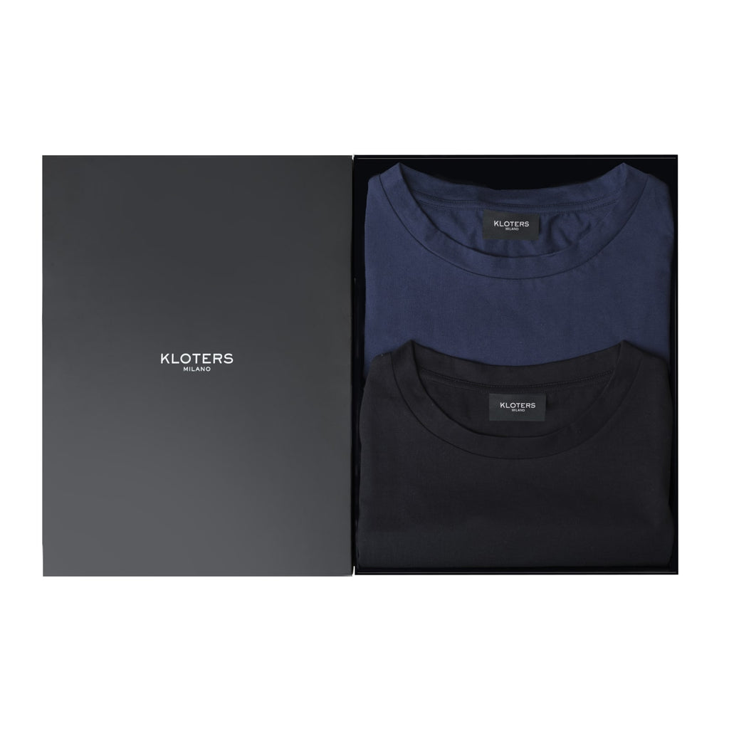 T-shirt Pack: Black & Blue - kloters
